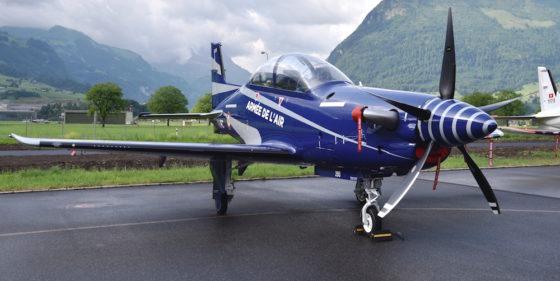 le Pilatus PC-21 ( nouveau avion d'entrainement de l'armée de l'air) 17061610