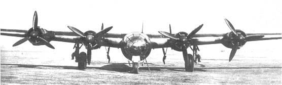 Le Messerschmitt Me 264  Amerika Bomber 264-110