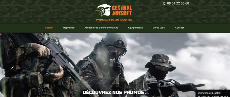 ma boutique préférée:central airsoft Captur12