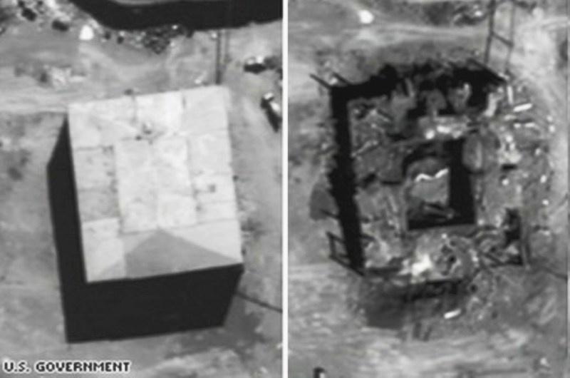 Opération Orchard ( est une opération militaire exécutée par l'armée de l'air israélienne le 6 septembre 2007 ) Ob_15110