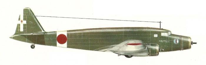 un avion italien vol de rome à Tokyo -1er juillet 1942- S75d3810