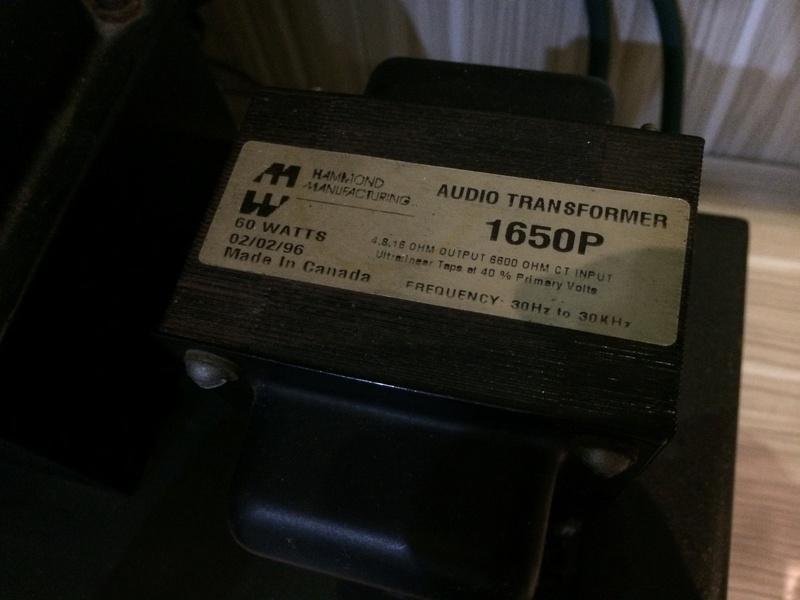 Allegro II tube amplifier (sold) Img-0811