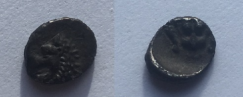 Monnaie grecque ? A identifier Hemiob10