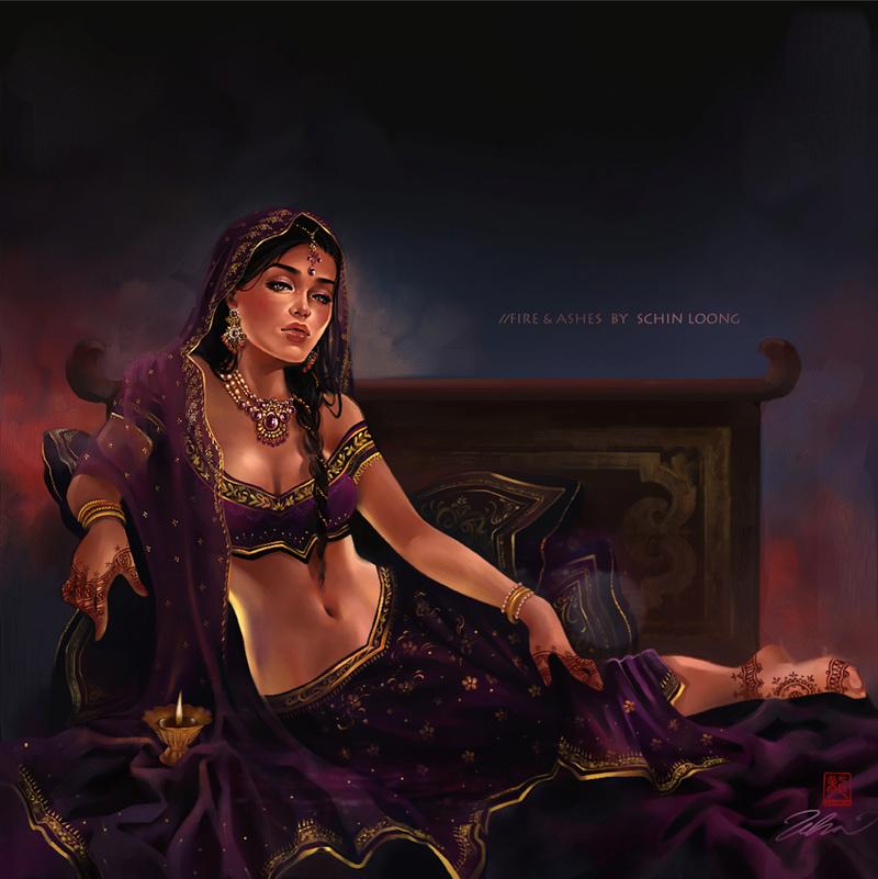 "Shreela, la ""princesse"" déchue Fire_a10"
