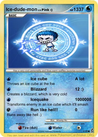Pokemon Card Creator 12897610