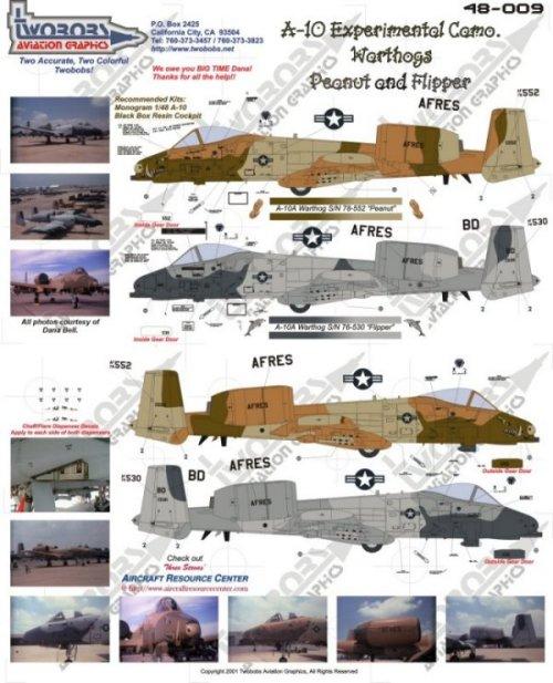 A-10a Thunderbolt II 47th fighter Sqd   Italeri 1-48 0111
