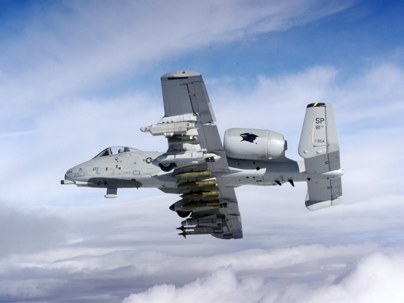A-10a Thunderbolt II 47th fighter Sqd   Italeri 1-48 27210
