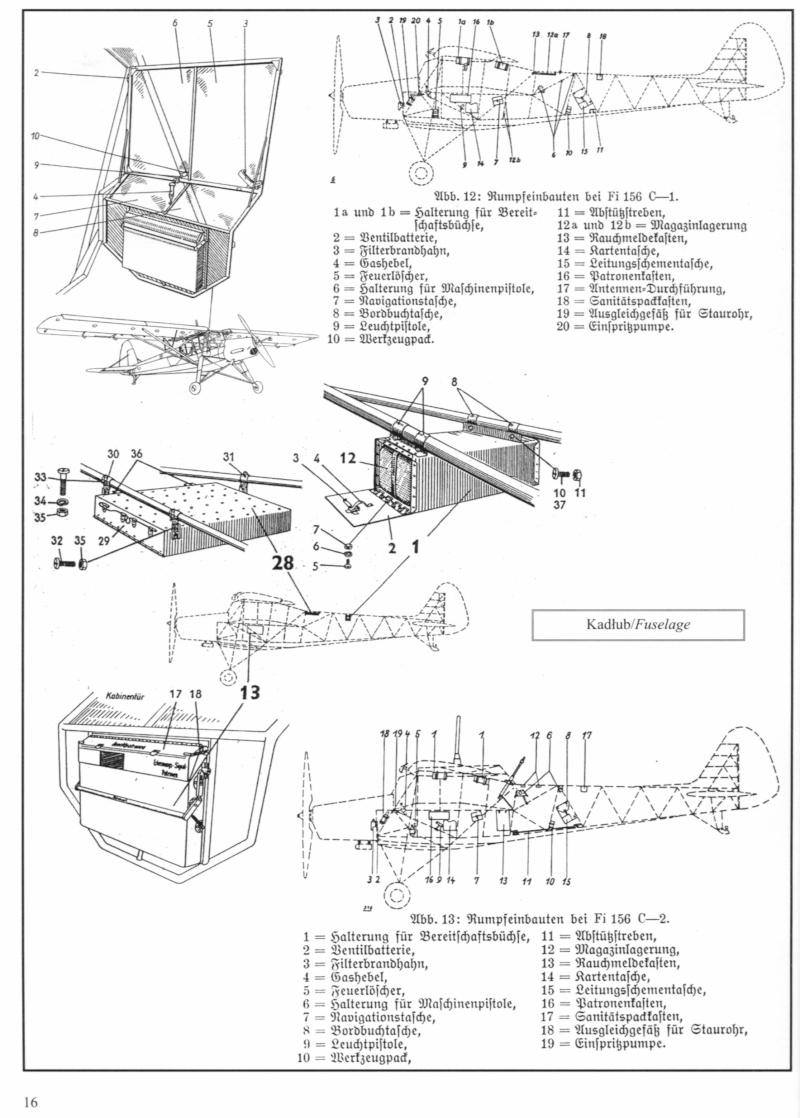 Fieseler Fi156C Storch 313