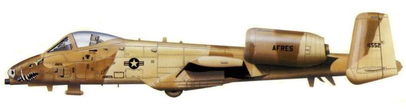 A-10a Thunderbolt II 47th fighter Sqd   Italeri 1-48 3_13_b10