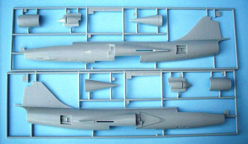 Hasegawa F-104G 1/48 5sprue10