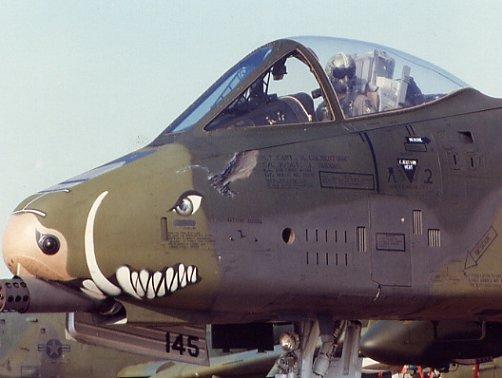 A-10a Thunderbolt II 47th fighter Sqd   Italeri 1-48 A-10no10