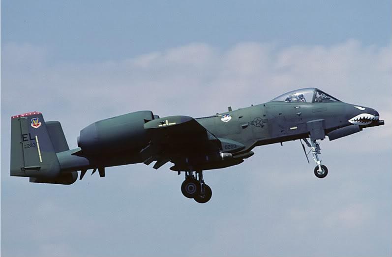 A-10a Thunderbolt II 47th fighter Sqd   Italeri 1-48 A-10ti10