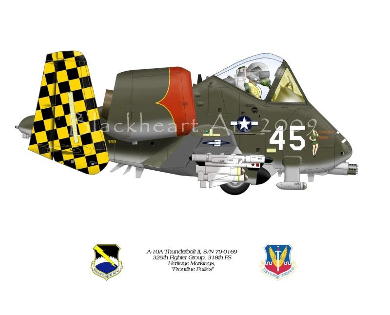 A-10a Thunderbolt II 47th fighter Sqd   Italeri 1-48 A10her10
