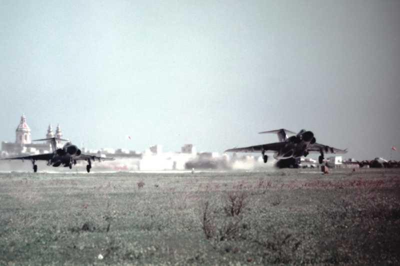 RAF based or visiting Malta post war Dp100210