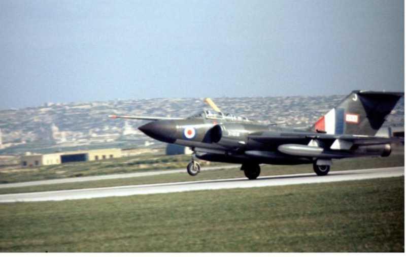 RAF based or visiting Malta post war Dp100310