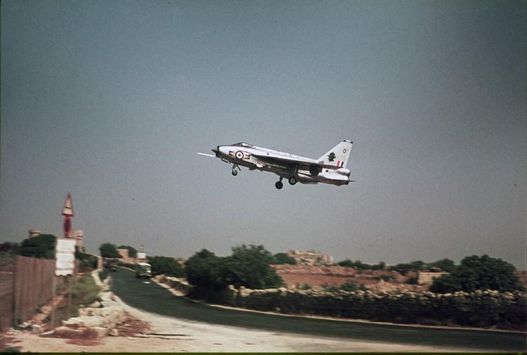 RAF based or visiting Malta post war Lightn10