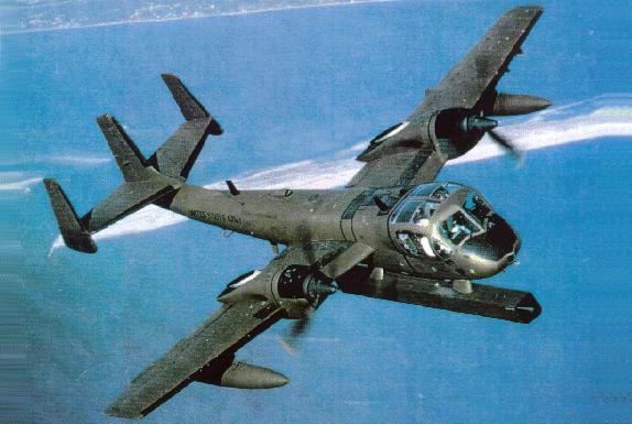 OV-1D Mohawk Ov-1-610