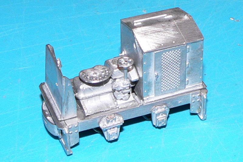 Eine kleine O&K Feldbahndiesellok entsteht Bausta11