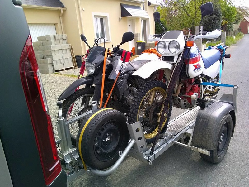 Transporter facilement sa moto 18199410