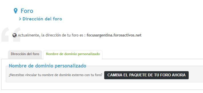 No funciona más mi dominio externo que tuve durante años (paquete gratuito) Captur12