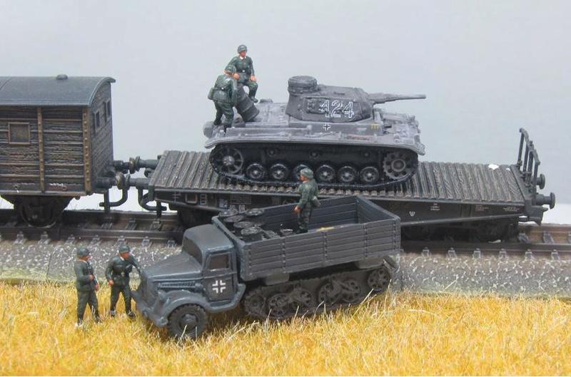 Panzer Depot 1/144e 1-14410