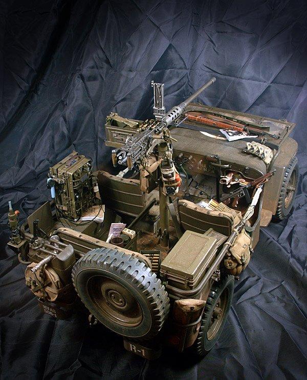 Diorama 1/6 RC - Page 2 Jeep-w11