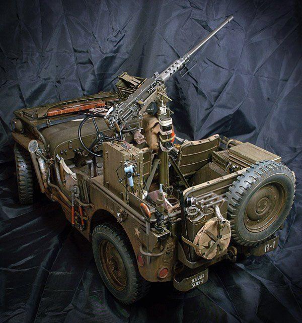 Diorama 1/6 RC - Page 2 Jeep-w12