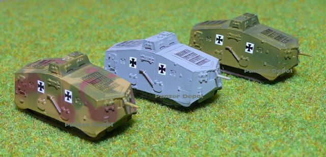 Panzer Depot 1/144e Panzer41
