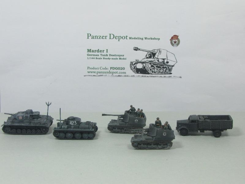 Panzer Depot 1/144e Panzer42