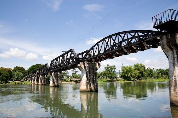 Le chemin de fer de la rivière Kwai au patrimoine mondial ? Z214