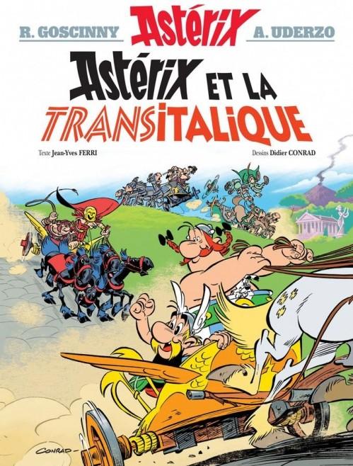 Astérix le Gaulois - Tome 37 : Astérix et la Transitalique [Goscinny, Uderzo, Ferry et Conrad] Couv7010