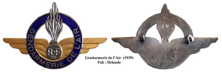 LES INSIGNES DE LA PREVOTE AFN 1943 A 1945 Air_de10