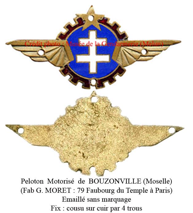 LES INSIGNES DE LA PREVOTE AFN 1943 A 1945 Peloto12