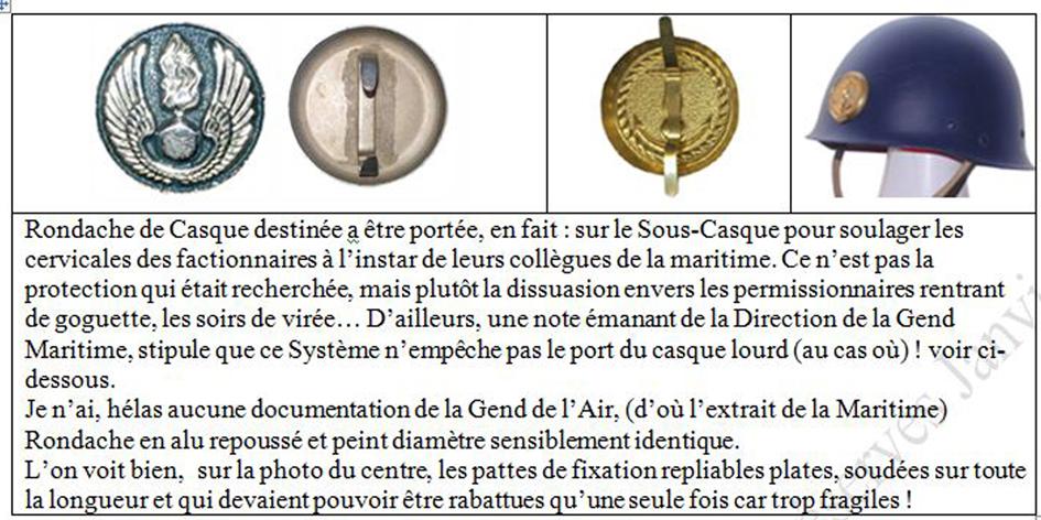 LES INSIGNES DE LA PREVOTE AFN 1943 A 1945 Rondac11