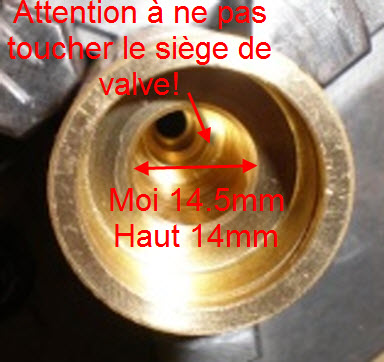 Essais pour diminuer la conso d'air sur une Buccaneer ? ressort valve marteau 04-04-10