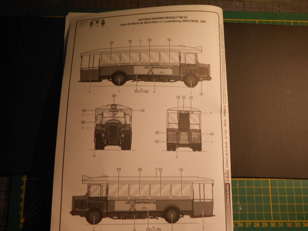 autobus parisien tn6 c2 1/24 heller  Autobu14