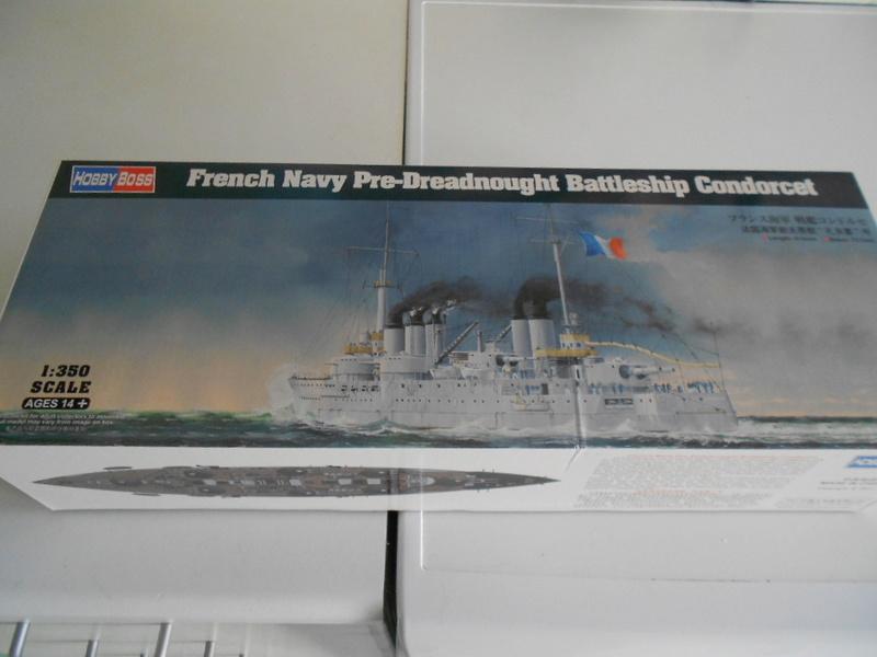 [HOBBY BOSS] CONDORCET - 1/350 - un bateaux français le Condorcet  Bateau17