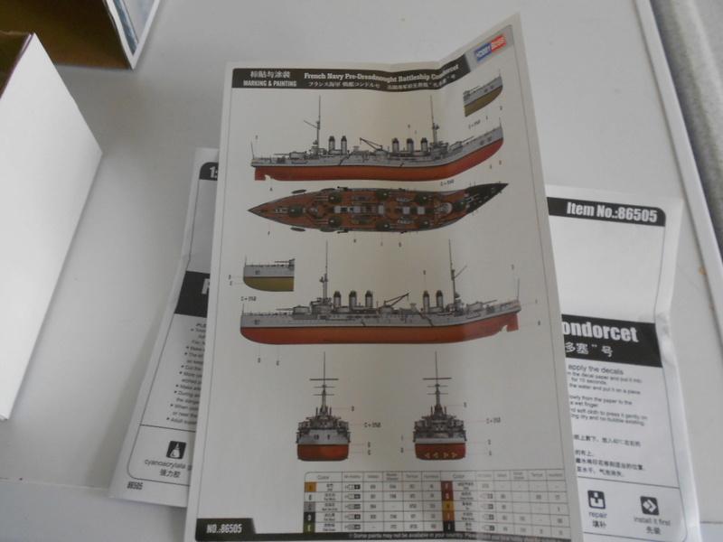 [HOBBY BOSS] CONDORCET - 1/350 - un bateaux français le Condorcet  Bateau19