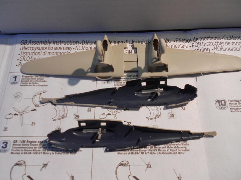 breguet Bre. 693 b2 1/72 mistercraft et kit azur  Bregue25