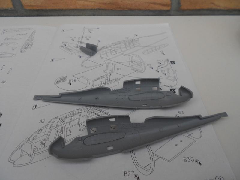 breguet Bre. 693 b2 1/72 mistercraft et kit azur  Bregue83
