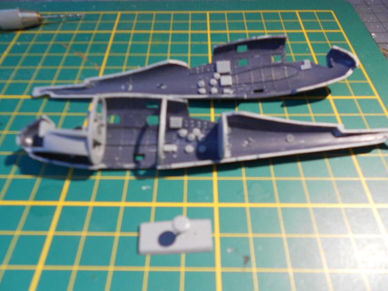 breguet Bre. 693 b2 1/72 mistercraft et kit azur  Bregue87