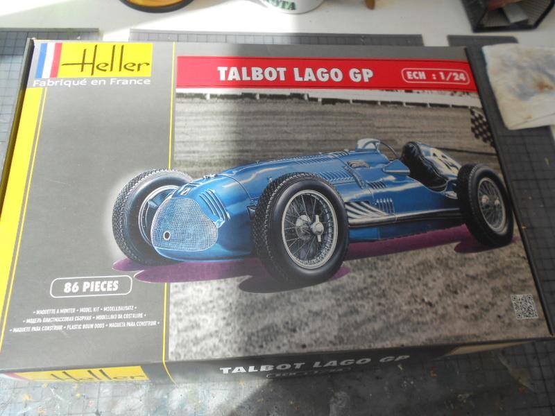 Talbot Lago GP 1/24 Heller  Condo241