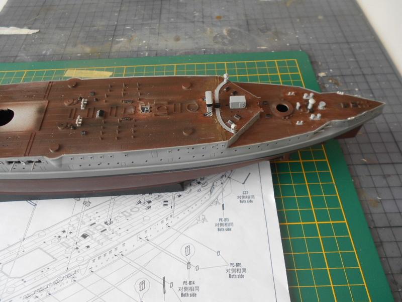 [HOBBY BOSS] CONDORCET - 1/350 - un bateaux français le Condorcet  Condor42