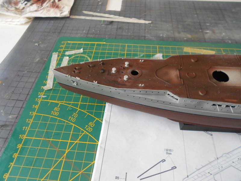 [HOBBY BOSS] CONDORCET - 1/350 - un bateaux français le Condorcet  Condor43