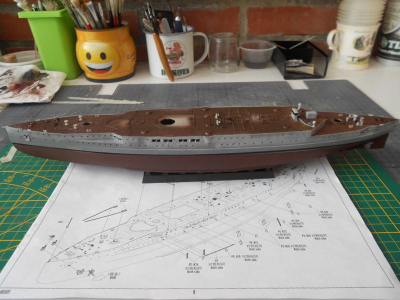 [HOBBY BOSS] CONDORCET - 1/350 - un bateaux français le Condorcet  Condor44