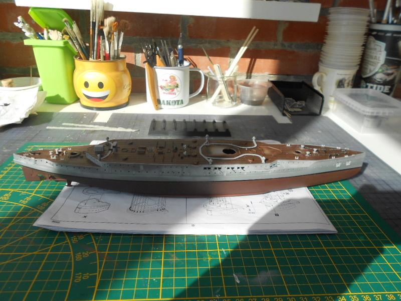 [HOBBY BOSS] CONDORCET - 1/350 - un bateaux français le Condorcet  Condor69
