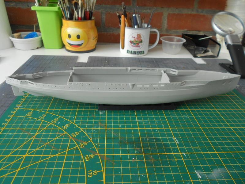 [HOBBY BOSS] CONDORCET - 1/350 - un bateaux français le Condorcet  Dybut_14
