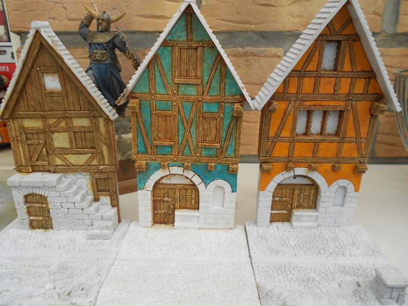 petite façade médiéval de marque fenryll echelle 25mm  Fayade10