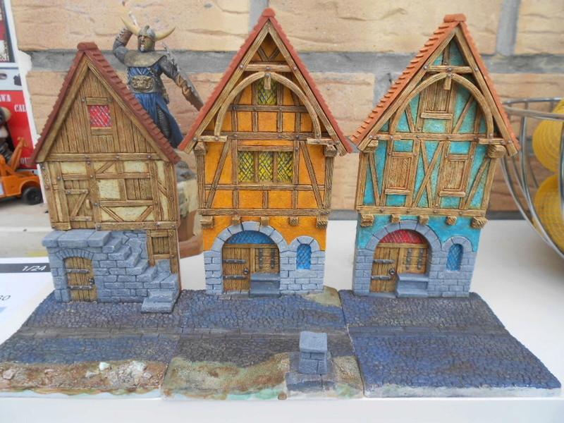petite façade médiéval de marque fenryll echelle 25mm  Fayade18