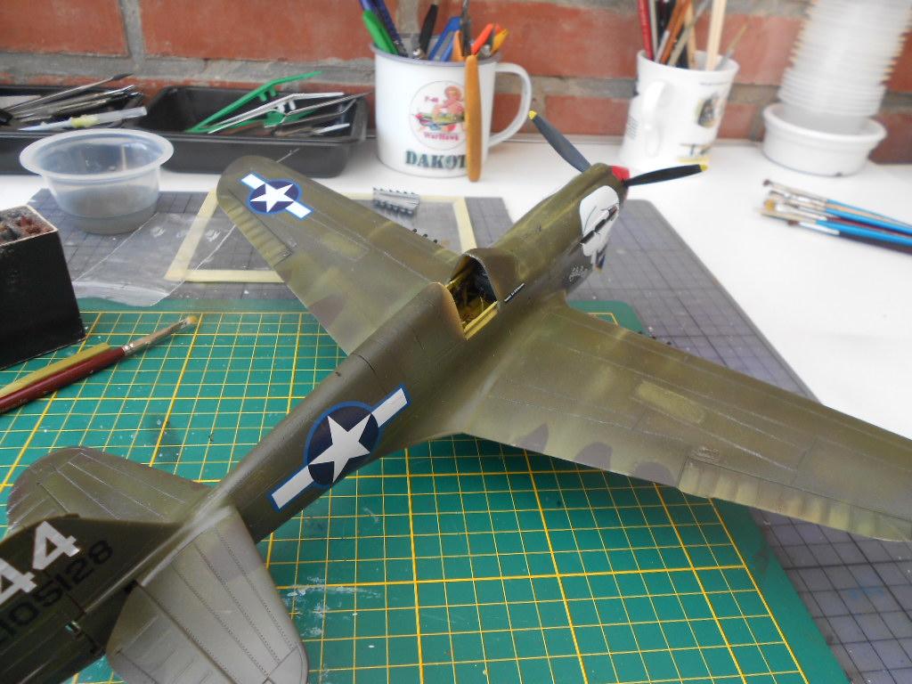 P-40 N Warhawk 1/32 Edouard   - Page 2 P40_bi17